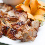 Thịt heo rừng nướng